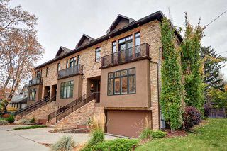 Photo 1: 673 3 Avenue NW in Calgary: Sunnyside Townhouse for sale : MLS®# C3640410
