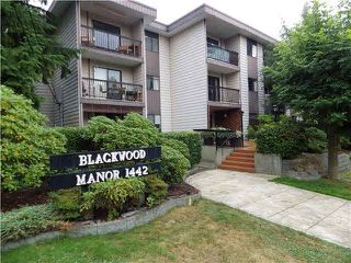 Photo 1: 203 1442 BLACKWOOD Street: White Rock Condo for sale (South Surrey White Rock)  : MLS®# F1445500