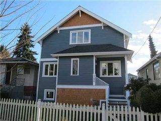 Photo 1: 780 30TH Ave E in Vancouver East: Fraser VE Home for sale ()  : MLS®# V935410