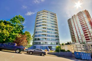 "Photo 1: 701 31 ELLIOT Street in New Westminster: Downtown NW Condo for sale in ""ROYAL ALBERT TOWER"" : MLS®# R2065597"