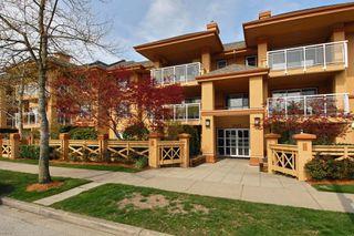 "Photo 1: 207 15155 22 Avenue in Surrey: Sunnyside Park Surrey Condo for sale in ""VILLA PACIFIC"" (South Surrey White Rock)  : MLS®# R2253156"