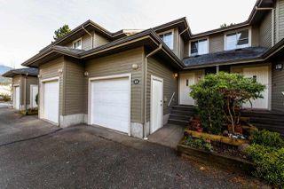 "Photo 1: 15 40200 GOVERNMENT Road in Squamish: Garibaldi Estates Townhouse for sale in ""VIKING RIDGE"" : MLS®# R2323762"