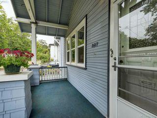 Photo 2: 2617 Fernwood Road in VICTORIA: Vi Oaklands Single Family Detached for sale (Victoria)  : MLS®# 413239