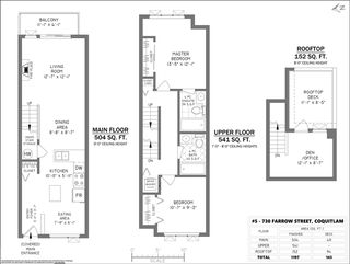 "Photo 21: 5 730 FARROW Street in Coquitlam: Coquitlam West Townhouse for sale in ""FARROW RIDGE"" : MLS®# R2457758"