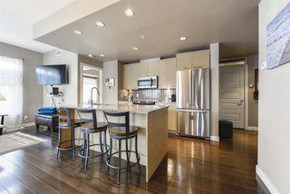 Photo 4: 303 9908 84 Avenue in Edmonton: Zone 15 Condo for sale : MLS®# E4208740