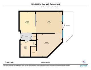 Photo 4: 323 3111 34 Avenue NW in Calgary: Varsity Apartment for sale : MLS®# A1046875
