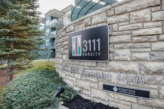 Photo 1: 323 3111 34 Avenue NW in Calgary: Varsity Apartment for sale : MLS®# A1046875