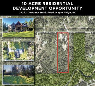 Photo 1: 27242 DEWDNEY TRUNK Road in Maple Ridge: Northeast House for sale : MLS®# R2523092