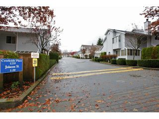 "Photo 16: 25 1235 JOHNSON Street in Coquitlam: Canyon Springs Townhouse for sale in ""CREEKSIDE PLACE"" : MLS®# V1035997"
