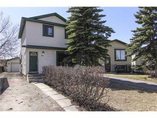 Photo 1: 81 ERIN RIDGE Road SE in CALGARY: Erinwoods Residential Detached Single Family for sale (Calgary)  : MLS®# C3612417