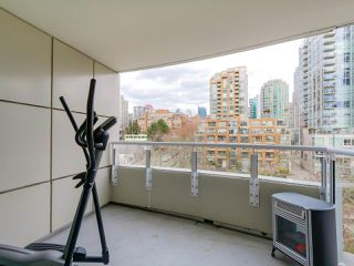 "Photo 10: 808 1500 HORNBY Street in Vancouver: Yaletown Condo for sale in ""888 BEACH"" (Vancouver West)  : MLS®# R2065574"