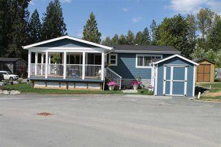 "Photo 2: 7 53480 BRIDAL FALLS Road in Rosedale: Rosedale Popkum Manufactured Home for sale in ""Bridal Falls RV Resort"" : MLS®# R2176132"