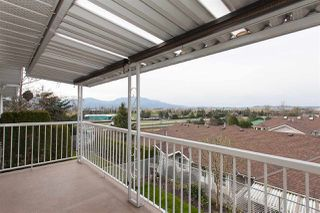 "Photo 18: 57 1973 WINFIELD Drive in Abbotsford: Abbotsford East Townhouse for sale in ""Belmont Ridge"" : MLS®# R2252224"