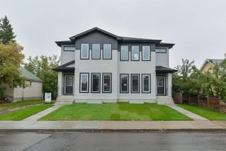 Main Photo: 10738 149 Street in Edmonton: Zone 21 House Half Duplex for sale : MLS®# E4129208