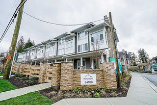 "Main Photo: 33 24108 104 Avenue in Maple Ridge: Albion Townhouse for sale in ""RIDGEMONT"" : MLS®# R2329270"