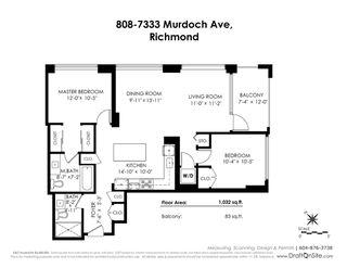 "Photo 11: 808 7333 MURDOCH Avenue in Richmond: Brighouse Condo for sale in ""Park Residences"" : MLS®# R2381259"
