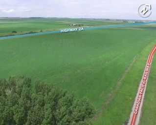 Photo 2: 450888 HIGHWAY # 2A Highway: Rural Foothills County Land for sale : MLS®# C4267564