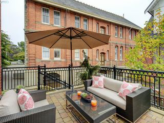 Photo 1: 14 675 Superior Street in VICTORIA: Vi James Bay Row/Townhouse for sale (Victoria)  : MLS®# 420018