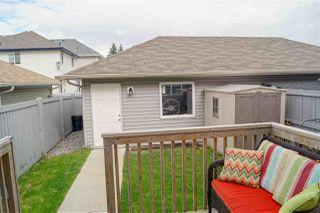 Photo 40: 8214 180 Avenue in Edmonton: Zone 28 House Half Duplex for sale : MLS®# E4220714