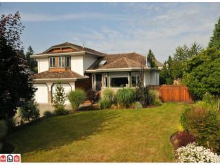 """Photo 1: 3385 198A Street in Langley: Brookswood Langley House for sale in """"MEADOWBROOK"""" : MLS®# F1120474"""