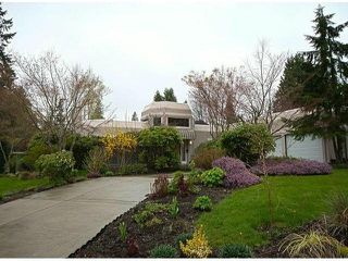 Photo 1: 12641 OCEAN CLIFF Drive in Surrey: Crescent Bch Ocean Pk. House for sale (South Surrey White Rock)  : MLS®# F1411240