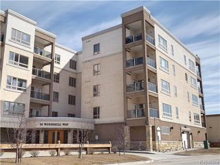 Photo 1: 55 Windmill Way in Winnipeg: Charleswood Condominium for sale (South Winnipeg)  : MLS®# 1601338