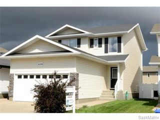Photo 1: 4334 MEADOWSWEET Lane in Regina: Single Family Dwelling for sale (Regina Area 01)  : MLS®# 584657