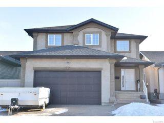 Photo 1: 4313 GUSWAY Street in Regina: Single Family Dwelling for sale (Regina Area 01)  : MLS®# 600709