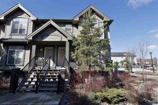 Main Photo: 13 4755 Terwillegar Common in Edmonton: Zone 14 Townhouse for sale : MLS®# E4151630