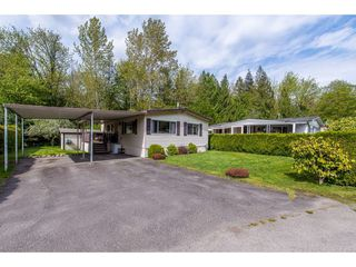 "Main Photo: 23 45955 SLEEPY HOLLOW Road: Cultus Lake Manufactured Home for sale in ""Liumchen Mobile Home Park"" : MLS®# R2361769"