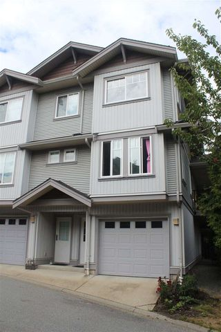 "Photo 1: 153 12040 68 Avenue in Surrey: West Newton Townhouse for sale in ""Terrace"" : MLS®# R2386154"