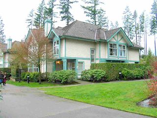 "Photo 1: 40 65 FOXWOOD Drive in Port Moody: Heritage Mountain Townhouse for sale in ""Forest Hill"" : MLS®# R2390192"