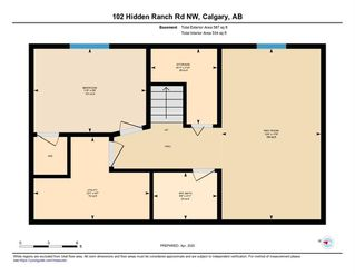 Photo 35: 102 HIDDEN RANCH Road NW in Calgary: Hidden Valley Detached for sale : MLS®# C4294129