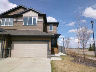 Photo 1: 425 GENESIS Court: Stony Plain House Half Duplex for sale : MLS®# E4196079