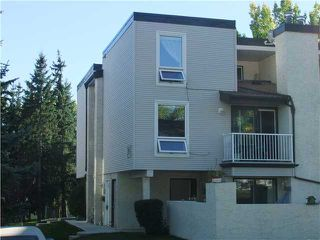Photo 1: 206 13104 ELBOW Drive SW in Calgary: Canyon Meadows Townhouse for sale : MLS®# C3586785