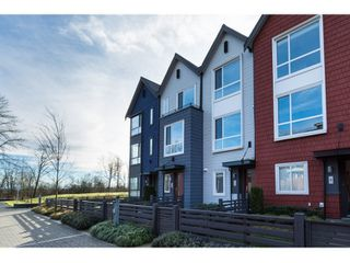 """Photo 1: 10 2332 RANGER Lane in Port Coquitlam: Riverwood Townhouse for sale in """"Fremont Blue"""" : MLS®# R2022229"""