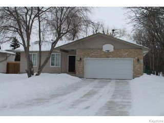 Photo 1: 63 Addington Bay in WINNIPEG: Charleswood Residential for sale (South Winnipeg)  : MLS®# 1603948