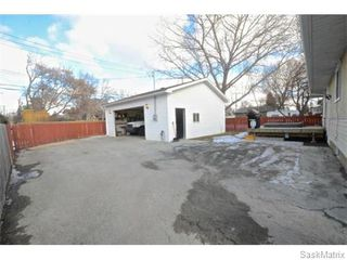 Photo 31: 4910 SHERWOOD Drive in Regina: Regent Park Single Family Dwelling for sale (Regina Area 02)  : MLS®# 565264