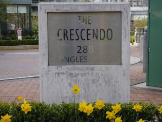 "Main Photo: 604 288 UNGLESS Way in Port Moody: North Shore Pt Moody Condo for sale in ""CRESCENDO"" : MLS®# R2076457"