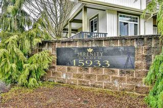 """Photo 1: 33 15933 86A Avenue in Surrey: Fleetwood Tynehead Townhouse for sale in """"Serenity Garden"""" : MLS®# R2160098"""