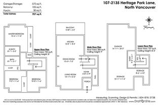 """Photo 2: 107 2135 HERITAGE PARK Lane in North Vancouver: Seymour NV Townhouse for sale in """"LODEN GREEN"""" : MLS®# R2319189"""