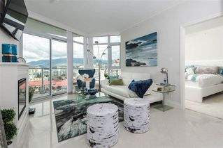 "Main Photo: 1105 199 VICTORY SHIP Way in North Vancouver: Lower Lonsdale Condo for sale in ""TROPHY AT THE PIER"" : MLS®# R2325981"