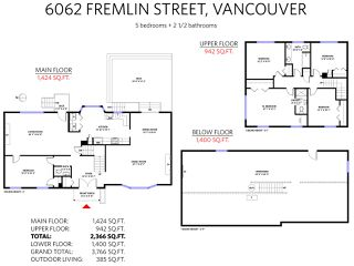 Photo 12: 6062 FREMLIN Street in Vancouver: Oakridge VW House for sale (Vancouver West)  : MLS®# R2346144