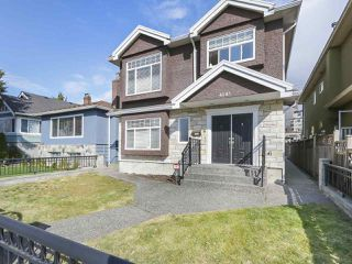 Photo 1: 4143 PENDER Street in Burnaby: Willingdon Heights House for sale (Burnaby North)  : MLS®# R2353497