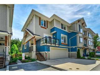 "Photo 1: 74 20498 82 Avenue in Langley: Willoughby Heights Townhouse for sale in ""GABRIOLA PARK"" : MLS®# R2372195"