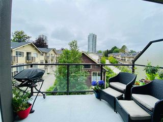 """Photo 2: 412 225 FRANCIS Way in New Westminster: Fraserview NW Condo for sale in """"WHITTAKER"""" : MLS®# R2469527"""