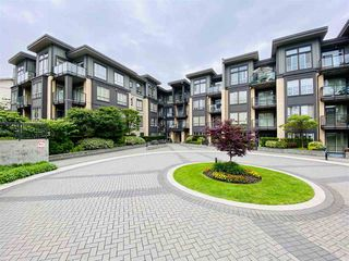 """Photo 1: 412 225 FRANCIS Way in New Westminster: Fraserview NW Condo for sale in """"WHITTAKER"""" : MLS®# R2469527"""