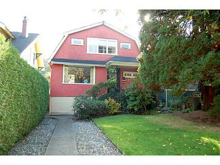 """Photo 1: 956 W 21ST Avenue in Vancouver: Cambie House for sale in """"CAMBIE VILLAGE"""" (Vancouver West)  : MLS®# V1033057"""