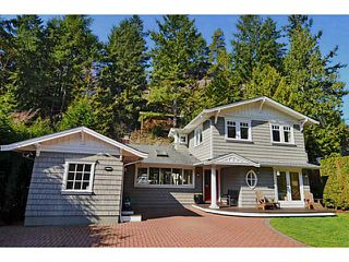 Main Photo: 5621 EAGLE HARBOUR Road in West Vancouver: Eagle Harbour House for sale : MLS®# V1054121