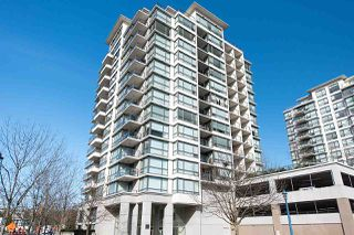"Photo 1: 1701 7555 ALDERBRIDGE Way in Richmond: Brighouse Condo for sale in ""OCEAN WALK"" : MLS®# R2116269"
